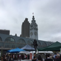 San Francisco Farmer's Market at the Ferry Building