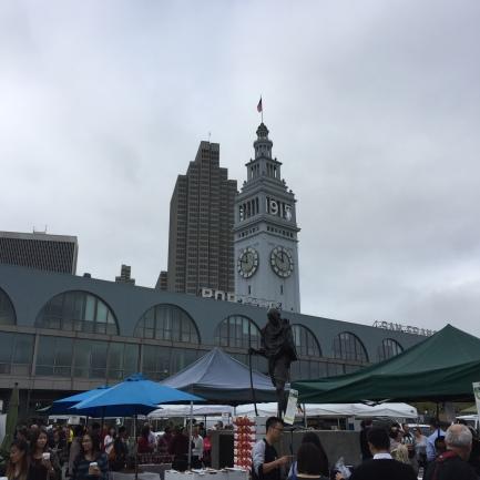 San Francisco Farmer's Market at the Ferry Building