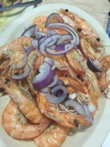 Sweet headed shrimp (boiled)