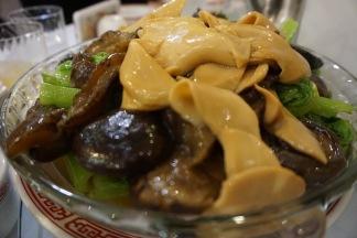 Mushroom Abalone and Vegetables