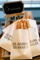 Who wouldn't love a Churro Bar?
