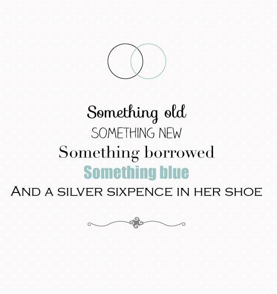 Something Old Something New Something Borrowed Something